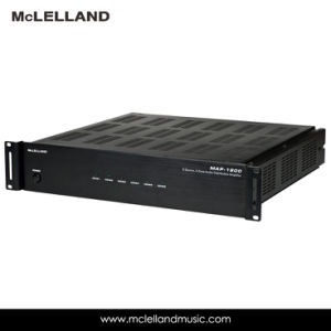 Mutil-Room Amplifier with 6zone&8zone (MAP-1200) pictures & photos