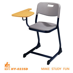 Single Student Chair with Attched Writing Pad pictures & photos