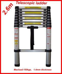 2.6m Aluminium Telescopic Ladder pictures & photos