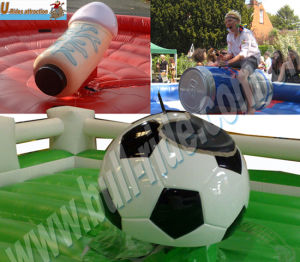Rodeo Bull with Different Kinds Attachement, Inflatable Sports Game pictures & photos