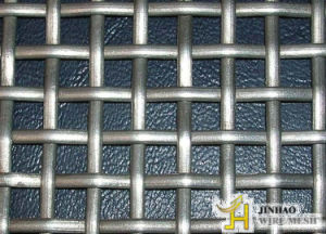 Stainless Steel Mining Sieving Crimped Wire Mesh (JH-027)