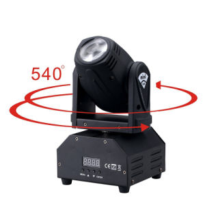 DMX Console 10W LED Mini Moving Head Light for Club