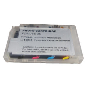 T5846 Compatible Cartridge Refillable Ink Cartridge for Epson Picturemate PM220 pictures & photos