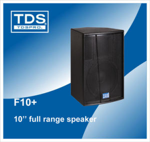 Two-Way 10inch Karaoke Full Range Speaker F10+ PA Horn Speaker pictures & photos