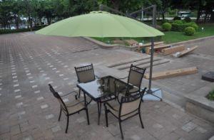 3m Steel & Fibreglass Cantilever Offset Parasol Garden Umbrella