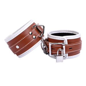 Premium Fur Lined Locking Wrist Restraints pictures & photos
