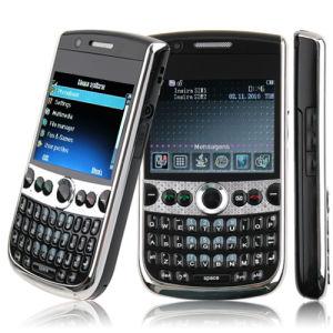 Dual SIM Card Cell Phone GPS TV Java 2GB TF Card Black