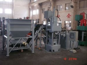 Hydraulic Briquetting machine with Conveyor and Feeding Hooper pictures & photos