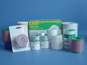 Medical Zinc Oxide Adhesive Bandage pictures & photos