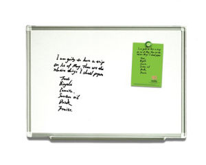 Wall Mounted Magnetic of Whiteboard pictures & photos