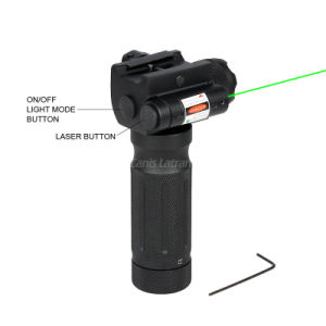 Tactical Hunting Grip Flashlight with Green Laser pictures & photos