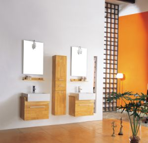 Modern Style/Double Sink Bathroom Cabinet/Vanity (KA-826)