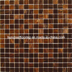 Glass Mosaic Tile Goldline Mosaic (HGM202) pictures & photos