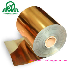 Low Price Metallized PVC with Gold and Silver pictures & photos