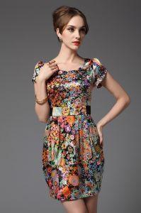 Silk Dress (Ogt1087)