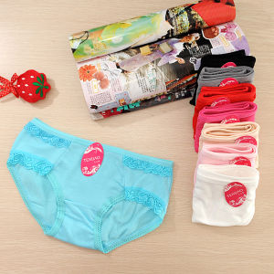 Fashion Cotton Women Sexy Lace Panty (TP-25558)