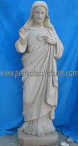 Stone Marble Statue Religious Jesus Sculpture for Religion (SY-X1708) pictures & photos