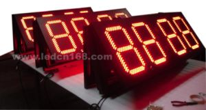 Outdoor LED Display (double-face time & temperature display)