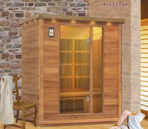 Red Cedar Far Infrared Sauna Room (SS-300)