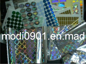 Sticker-Holographic Anti-Fake Logo pictures & photos