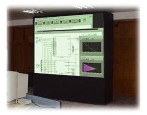 Rear Projection Interactive Whiteboard (RPWB3000) pictures & photos