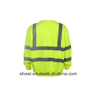 Custom Safety Reflective High Visibility Sweatshirt with En ISO pictures & photos