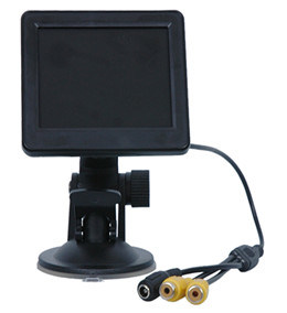 3.5 Inch Image Reverse Car PC Monitor with 2 AV Interface