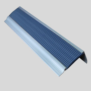 Abrasive Rounded Aluminium Tile Trim Stair Nosing pictures & photos