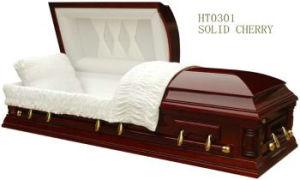 Wood Casket for Funeral (HT-0301)