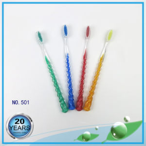 PS Handle Nylon Bristle Adult Toothbrush pictures & photos