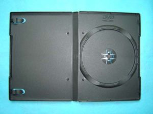 14mm DVD Case DVD Cover DVD Box Single Black (YP-D801H)