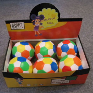 32panel Soccer Ball Shape Soft Ball pictures & photos