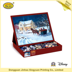 Cardboard Jigsaw Puzzle Children Game pictures & photos