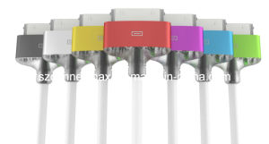 Mfi Certified 30pin Cable for iPhone, with LED Light