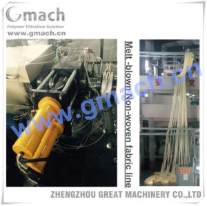 Continuous Screen Changer /Melt Filter for PP/PE Medical Non-Woven Fabrics Production Machine pictures & photos