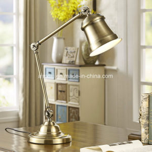 Desk Lamp for Collection Usage/Hotel Decorative Iron Foldable Bedside Reading Table Lamp pictures & photos