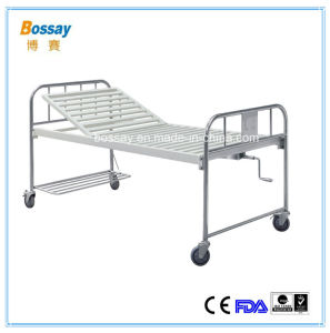 Bossay One Crank Hospital Manual Bed pictures & photos