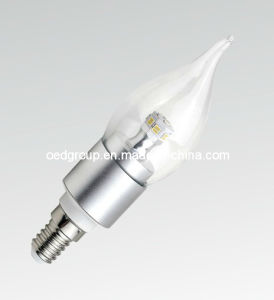 E27/E14 4W LED Flame LED Lamp (OED-FBL37132-4W) pictures & photos
