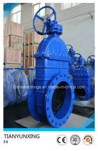 DIN F4 Series Ci Gg25 Cast Iron Gate Valve pictures & photos