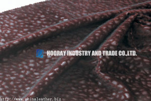 Flocking Synthetic Leather (HK-GW-21)