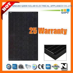 240W 156*156 Black Mono-Crystalline Solar Module pictures & photos
