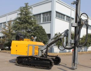 Rock Vertical Drilling Machine (crawler type) pictures & photos