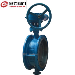 ANSI16.5 Flange Butterfly Valve with Bevel Gear pictures & photos