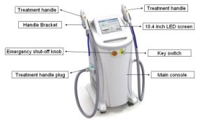 IPL+RF+Cooling System Hair Removal and Skin Rejuvenation Elite System (SMQ-EB-2) pictures & photos