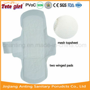 Super Absorbent Cotton Sanitary Napkins 280mm, Mini Pad for Women pictures & photos