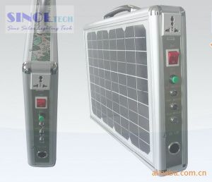 15W Portable Solar Home System for Outdoors/Camping/Traveling pictures & photos