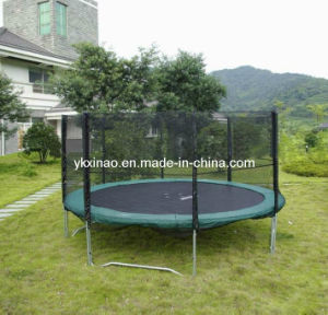 12ft Commercial Trampoline with Enclosure (XA1097)