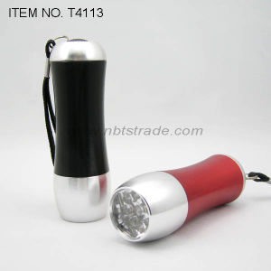 Arc Aluminum Alloy 9 LED Flashlight (T4113) pictures & photos