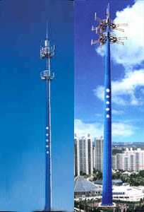 Steel Tower / Single Pipe Tower / Tube Tower