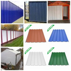 PVC Anti-Corrosion Africa Roofing Sheet pictures & photos